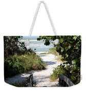 Way To The Beach Weekender Tote Bag