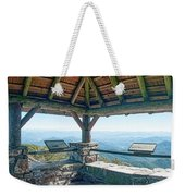 Wayah Bald Observation Tower - Macon County, North Carolina Weekender Tote Bag