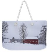 Wayside Inn Grist Mill Covered In Snow Storm 2 Weekender Tote Bag