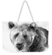 Wb Portrait Of A Bear Weekender Tote Bag
