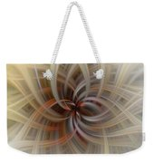 We Are All Connected Soft Abstract  Weekender Tote Bag