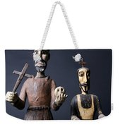 We Are From The Church And We Are Here To Help  Weekender Tote Bag