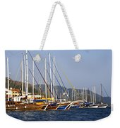 We Are Sailing Weekender Tote Bag