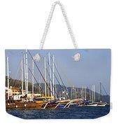 We Are Sailing Weekender Tote Bag