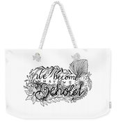 We Become Weekender Tote Bag