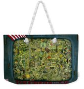 We Don't See The Whole Picture Weekender Tote Bag by James W Johnson