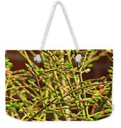 We Must Be Willing Weekender Tote Bag