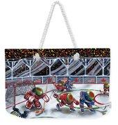 We Olive Hockey Weekender Tote Bag