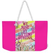 We Rise Weekender Tote Bag