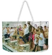 We Swim Weekender Tote Bag
