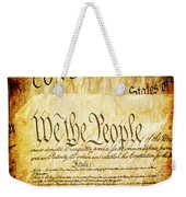 We The People Weekender Tote Bag