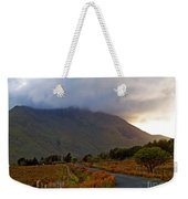 We Took The Road Less Traveled Weekender Tote Bag