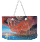 We Traded Our Hearts For Stones Weekender Tote Bag by Break The Silhouette