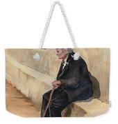 Weary Weekender Tote Bag
