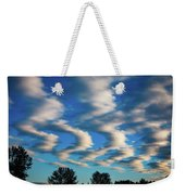 Weather Front Weekender Tote Bag