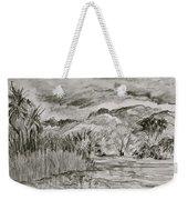 Weather Over Agua Caliente Weekender Tote Bag