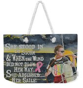 Weather The Storm Weekender Tote Bag