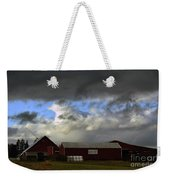 Weather Threatening The Farm Weekender Tote Bag