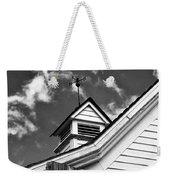 Weather Vane Bw Weekender Tote Bag