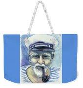 Weathered - He And His Memories... Weekender Tote Bag