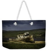 Weathered Fishing Boat Weekender Tote Bag