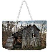 Weathered Old Abandoned Barn Weekender Tote Bag