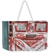 Weathered Red Door 1 Weekender Tote Bag