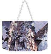 Weathered Rock Weekender Tote Bag