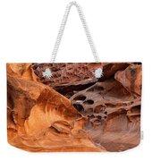 Weathered Sandstone Weekender Tote Bag by Leland D Howard