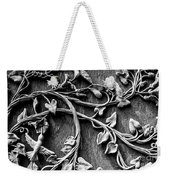 Weathered Wall Art In Black And White Weekender Tote Bag