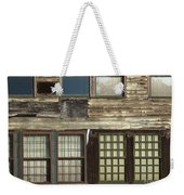 Weathered Windows Weekender Tote Bag