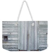 Weathered Wooden Door In France Weekender Tote Bag