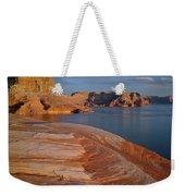 Weathering Pit Ridge Sunset Weekender Tote Bag