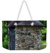 Weaving Time- Vertical Weekender Tote Bag