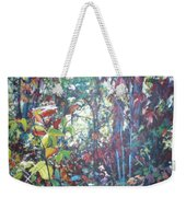 Web Of Color Weekender Tote Bag