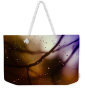 Web With Droplets Weekender Tote Bag