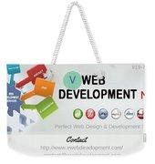 Website Development Company In Nyc Weekender Tote Bag