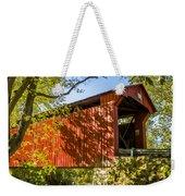 Webster/dick Huffman Covered Bridgesw Of Putnamville, Washingto Weekender Tote Bag