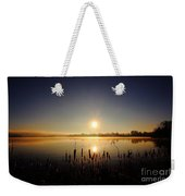 Webster Lake December Sunrise  Weekender Tote Bag