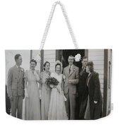 Wedding Bells Weekender Tote Bag