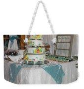 Wedding Cake Weekender Tote Bag