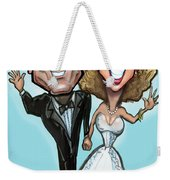 Wedding Cake Dolls Weekender Tote Bag