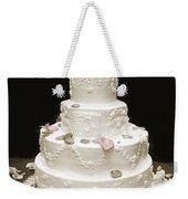 Wedding Cake Petals Weekender Tote Bag