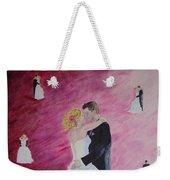 Wedding Dance Weekender Tote Bag