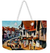 Wedding Day In Lavenham - Suffolk England Weekender Tote Bag