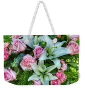 Wedding Flowers Weekender Tote Bag