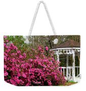 Wedding Gazebo Weekender Tote Bag