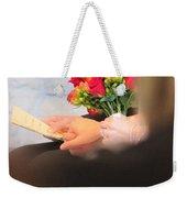 Wedding Hands Weekender Tote Bag