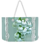 Wedding Happiness Greeting Card - Lily Of The Valley Flowers Weekender Tote Bag