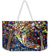 Wedding In The Park Weekender Tote Bag
